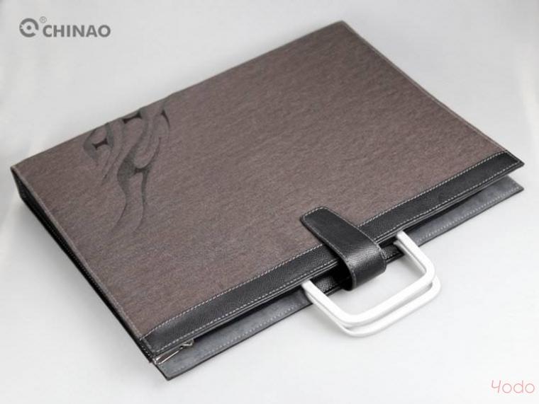 chinao Чехол-сумка Chinao Grey Canvas для MacBook Pro 15