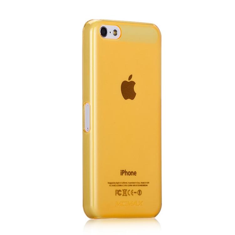 Momax Clear Breeze для iPhone 5c Желтый