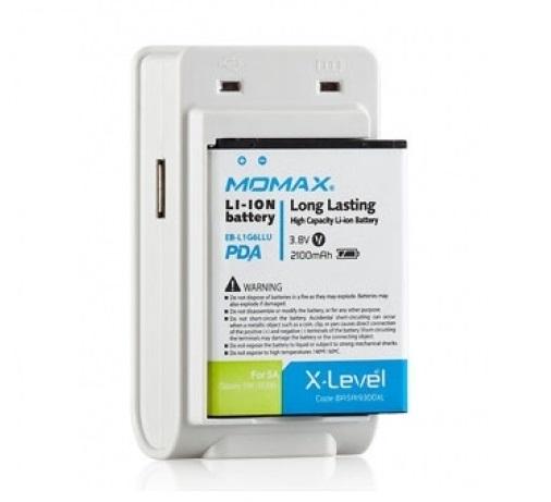 samsung Аккумуляторная батарея с зарядным устройством Momax U.Pack для Samsung Galaxy Note