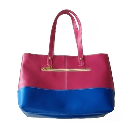 Женская сумка Chinao Color Mix из итальянской кожи с отделениями под гаджеты