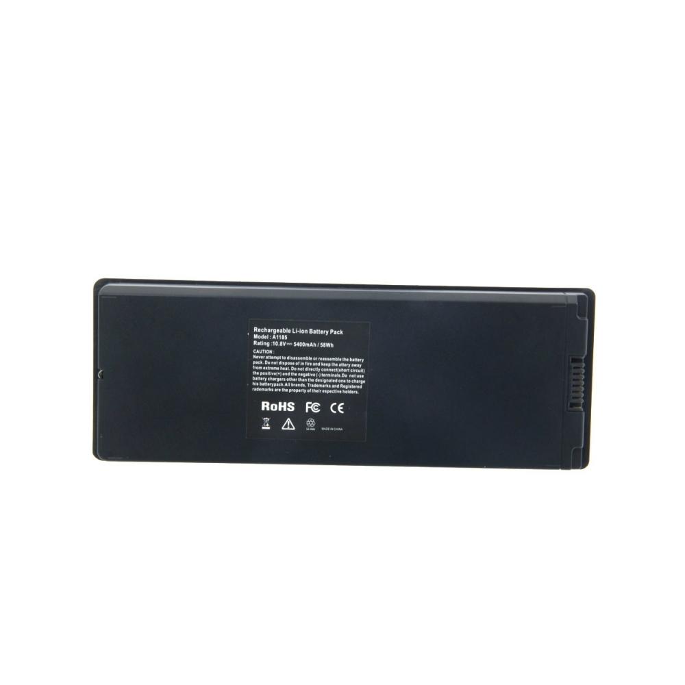 АккумуляторA1185 5400 mAh для Apple MacBook Черный