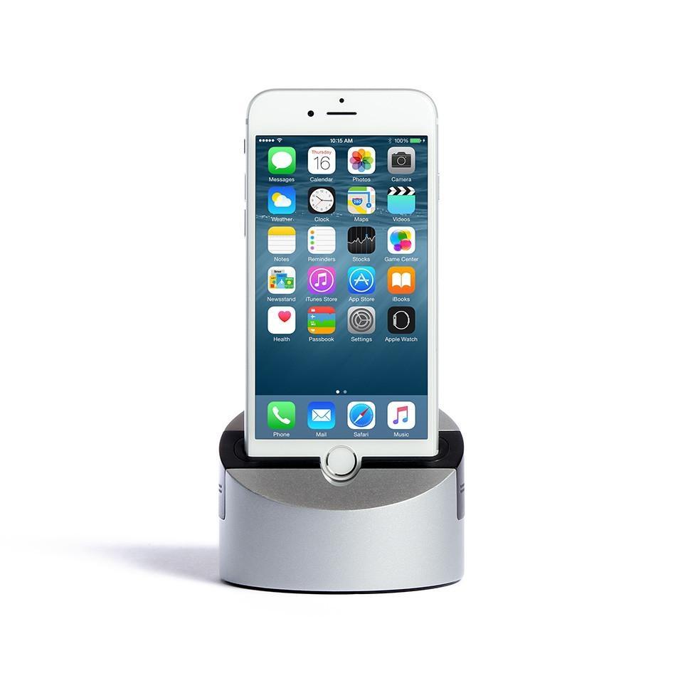 Док-станция Henge Docks Gravitas для iPhone/iPad с audio jack 3.5 (HDA02GRV-TAS) (версия 6/6s/7/8/iPad)