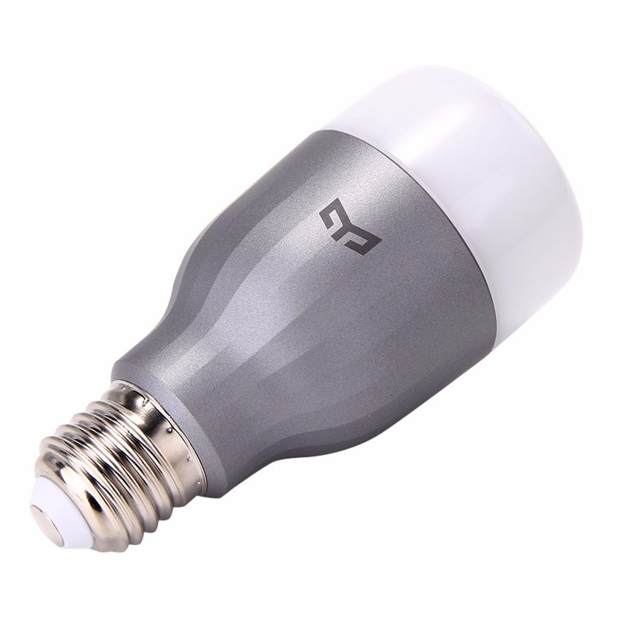Лампа Xiaomi E27 9Вт Yeelight LED Colorful Smart Bulb Серебристая