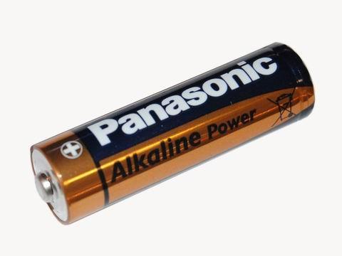 Батарейка Panasonic Alkaline Power 1.5В, AA/LR06 BL2 (1 штука)