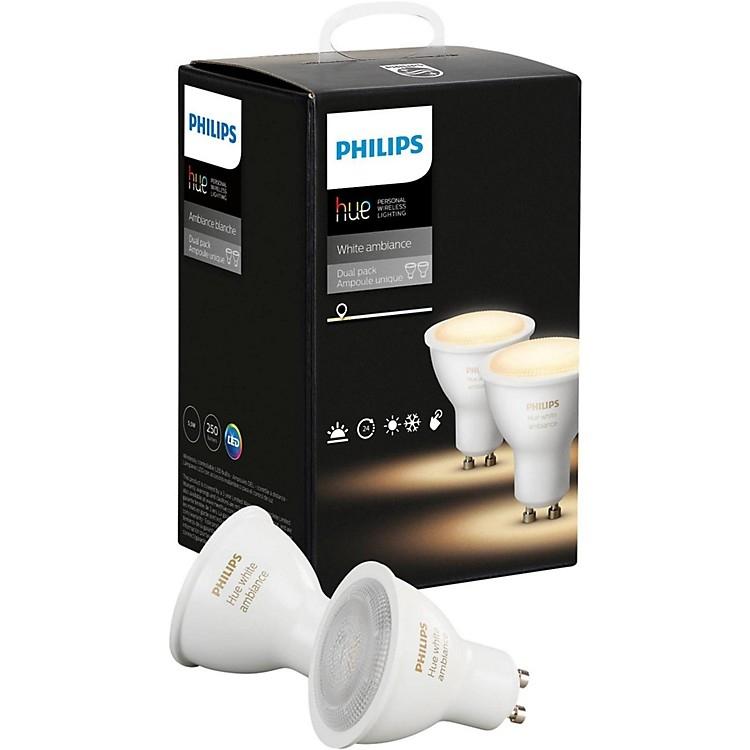 Комплект умных ламп Philips Hue White Ambiance GU10 (2 штуки)