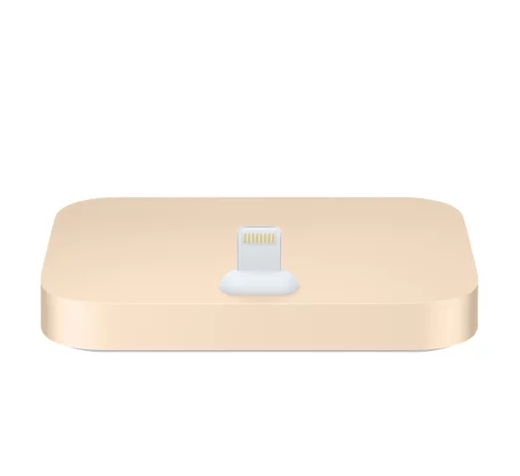 Док-станция Apple iPhone Lightning Dock золотая (ML8K2ZM/A)