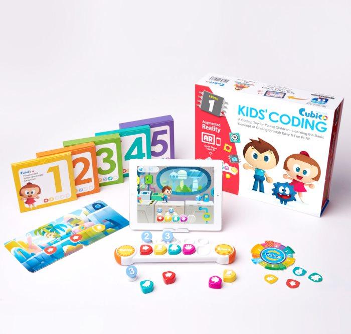 Cubico - детский набор для обучения основам программирования в игровой форме (LV1-CUBICO)