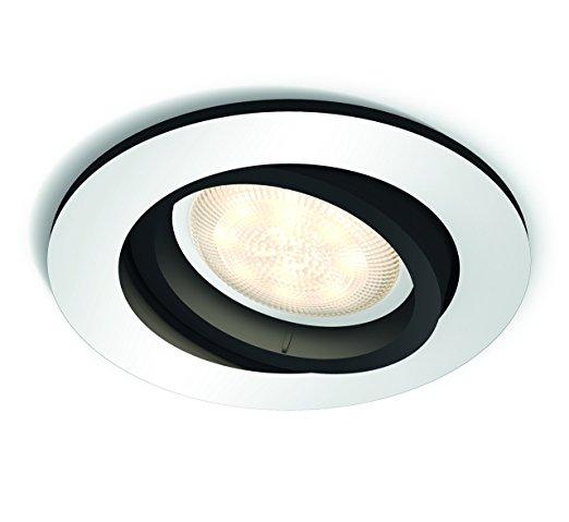 Встраиваемый светильник Philips Milliskin HUE круглый черный (915005425401)