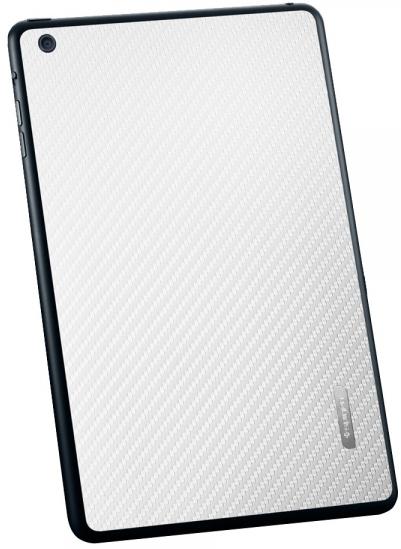 Защитная наклейка SGP Skin Guard для iPad mini Белый карбон